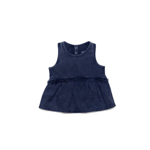 Navy Makena Top