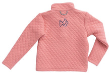 Load image into Gallery viewer, Girl's Quilted Pullover