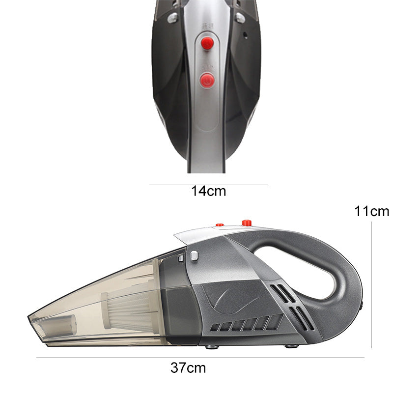 Handheld Vacuum Rechargeable Wireless Portable Car Cleaner LED Lamp