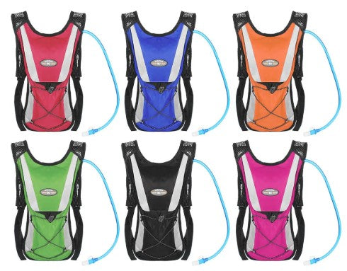 NANFENG 2L Outdoor Hydration Backpack Portable Water Bladder Bag Sports Camping Hiking