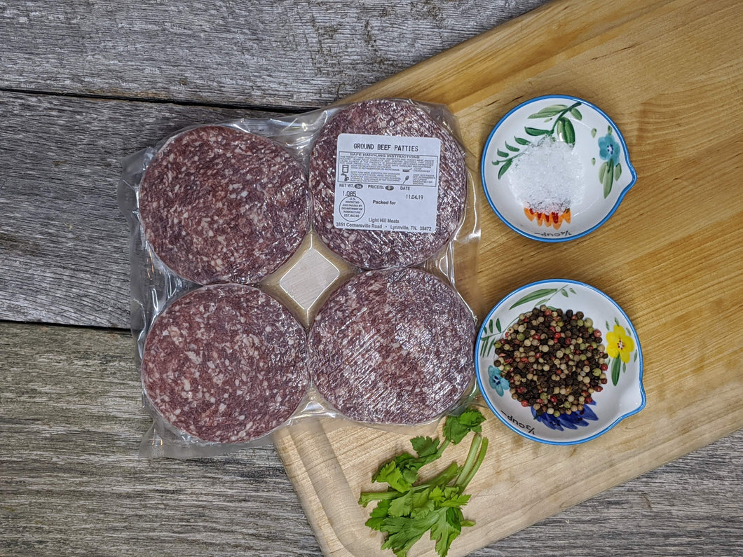 Grassfed Beef Patties