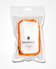 Orange Shield - Silicone case with keyring