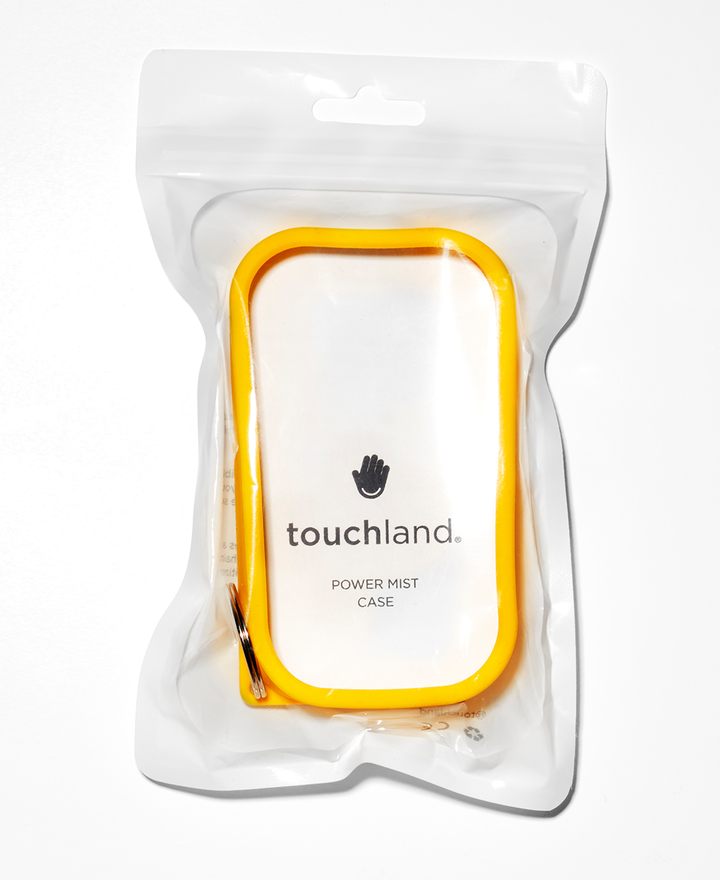Yellow Shield - Silicone case with keyring