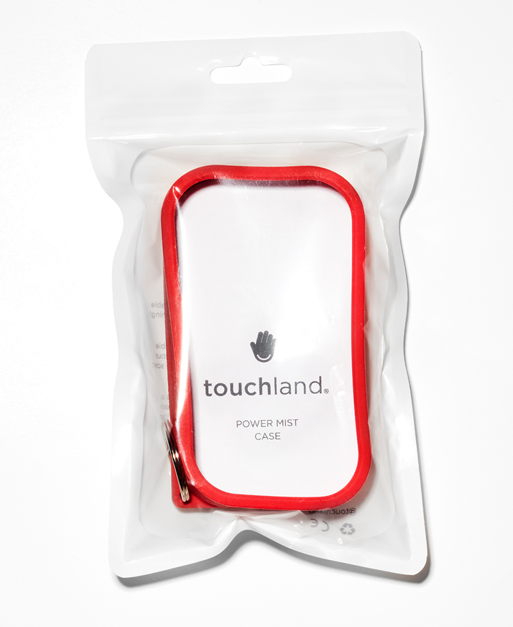 Red Shield - Silicone case with keyring