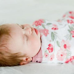 Spiced Blossom Bamboo Rayon Muslin Swaddle