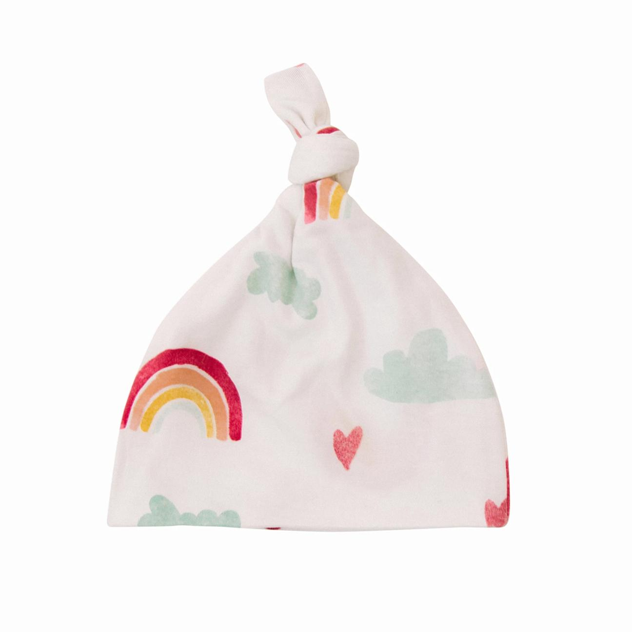 Over the Rainbow Stretchy Swaddle-Hat