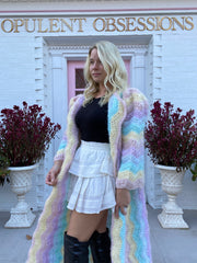Unique Cardigan-Rainbow