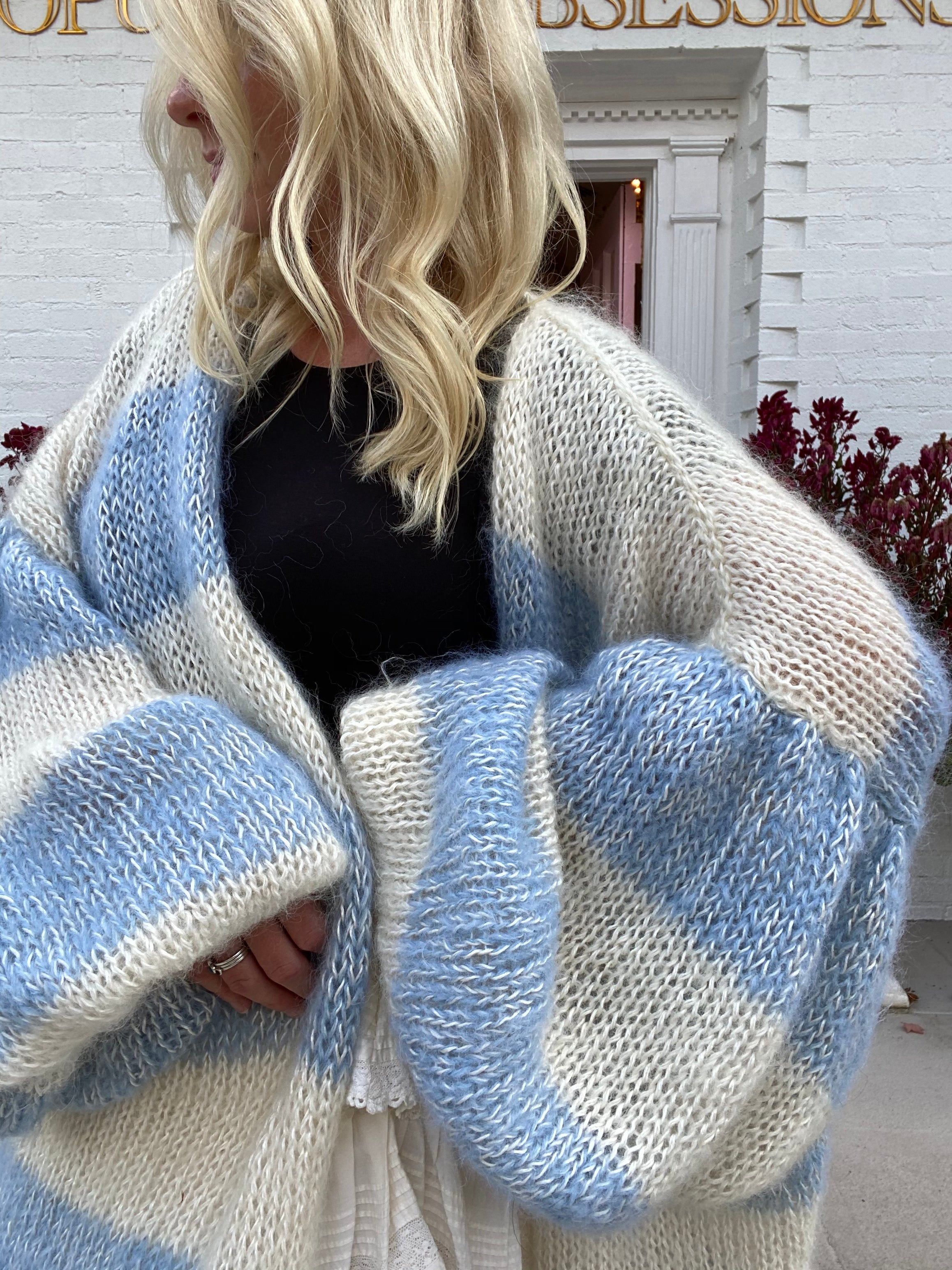 Arabella Cardigan-Blue