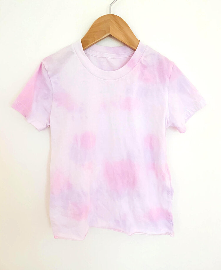 Seychelles Tee in Pink and Purple
