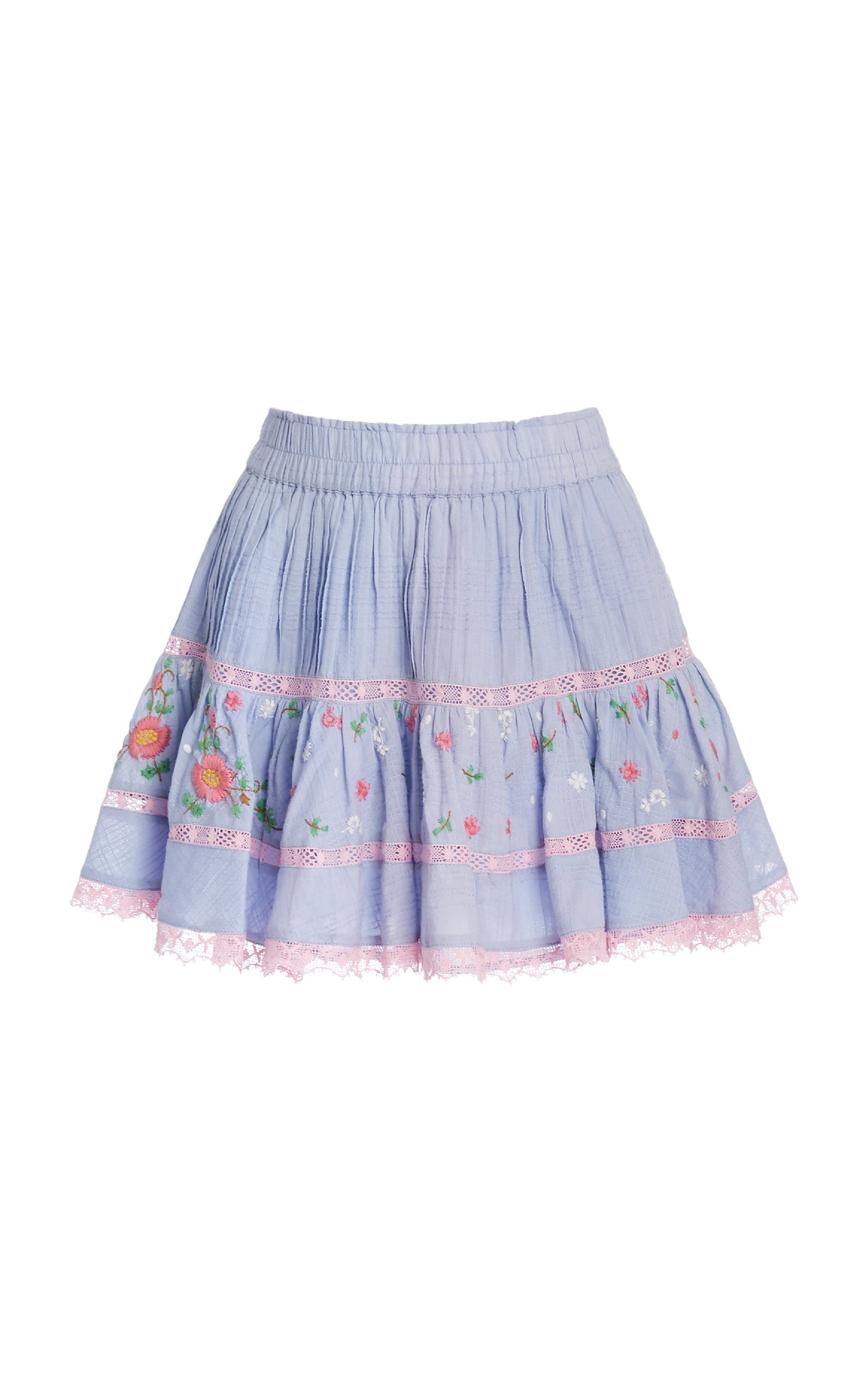 Jennings Skirt-Seaside Afternoon Blue Final Sale