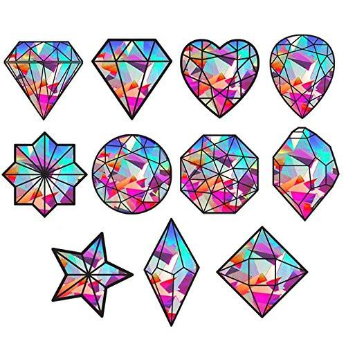 SunCatcher-The Gem Series|Rainbow Decals