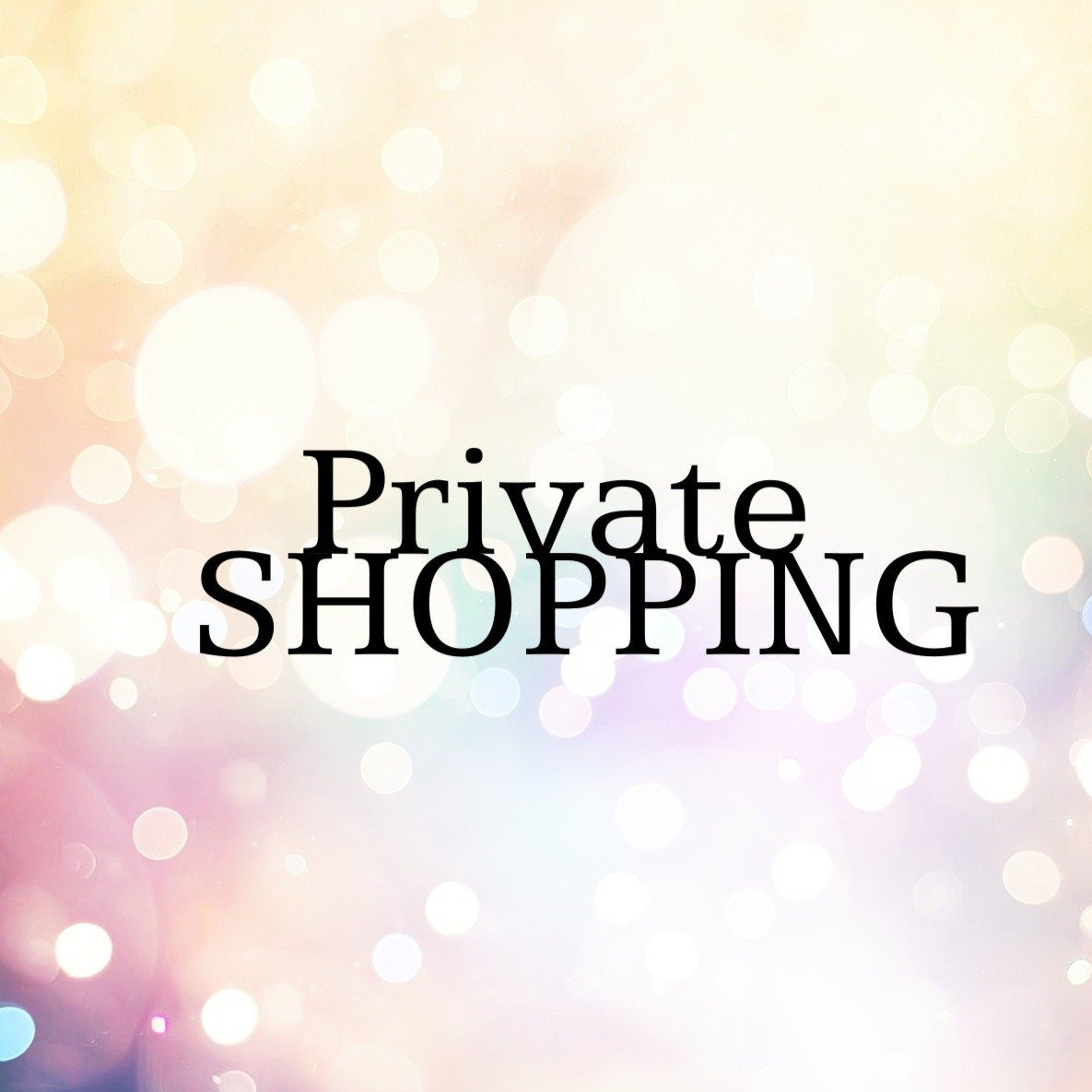 Private Shopping Hour