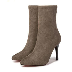 Ankle Length Stiletto Boots