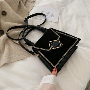 Stone Pattern PU Leather Crossbody Bags For Women 2019 Quality Luxury Shoulder Messenger Bag Female Small Handbags and Purses