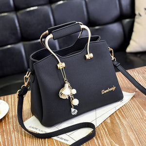 Luxury Zipper Shoulder Bag