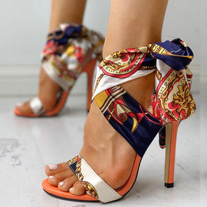 Women Sandals Fashion High Heels Sandals Shoes Woman Peep Toe Stiletto Sexy Women Heels Chaussures Femme Summer Pumps Women