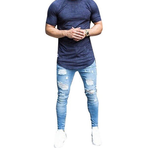 Casual Slim Fit Denim