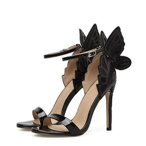 Bow-knot Stiletto Pumps Sandals