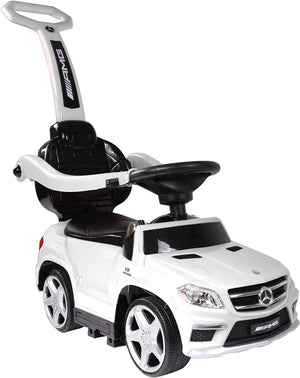 Best Ride On Cars 4 in 1 Mercedes Licensed Kids Push Car