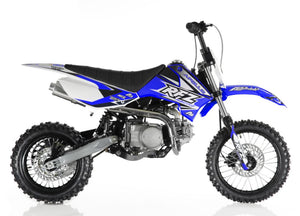 Apollo DB-X4 110cc Semi Automatic Off-Road Dirt Bike, Kick Start, Air Cooled, 4-Stroke