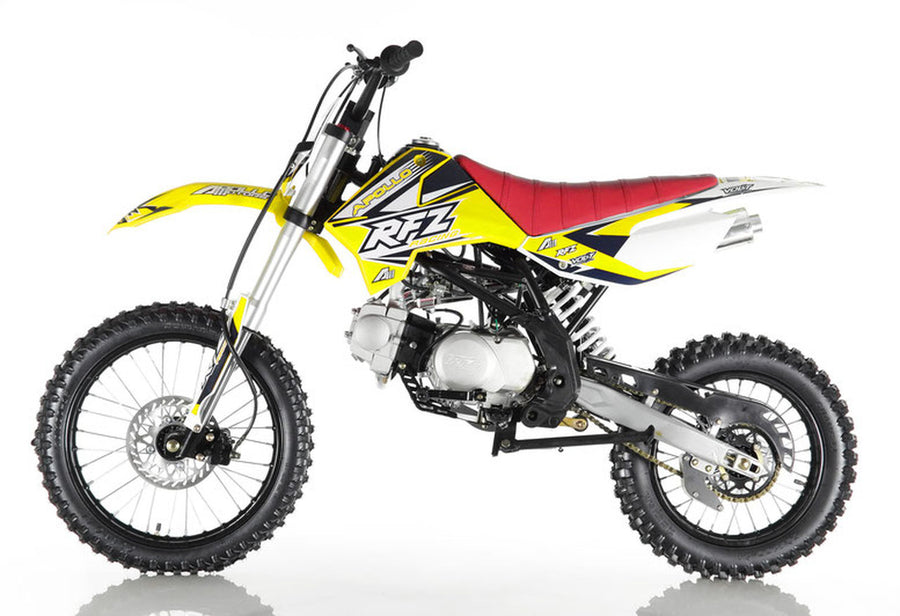 APOLLO DB-X18 125cc RFZ 125cc RACING Dirt Bike, 4 stroke, Single Cylinder