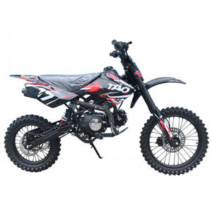 "Taotao High End Dirt Bike 17 125CC Big With 17"" Tires, Air Cooled, 4-Stroke, 1-Cylinder"