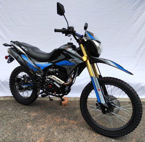 Hawk DLX 250cc DOT bike Hawk Deluxe model for sale