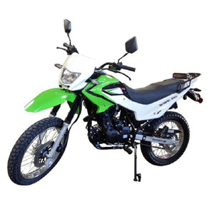 Enduro Street 229cc Legal Dirt Bike 5 Speed Manual w/ Electric/Kick Start Air Cool Engine - Nduro Bike 18B