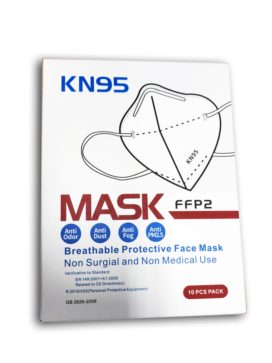 KN95 10 PCS MASK Breathable Protective Face Mask FFP2 (Free Shipping)