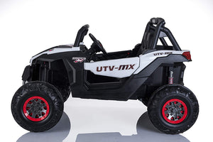 Best Ride On Cars Lightning UTV with 4 Motors-12V-White