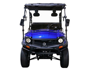 MASSIMO BUCK 200X UTV, 177cc Four-Stroke, Single Cylinder - Fully Assembled and Tested-Blue