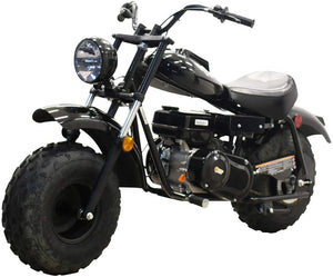 MASSIMO MINI BIKE 200, 196cc Four-Stroke, Fully Automatic Clutch Transmission