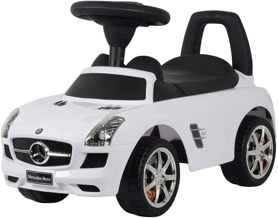 Best Ride On Cars Baby Toddler Ride-On Mercedes Benz Push Car w/ Sounds (2 Pack)