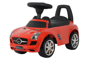 Best Ride On Cars Mercedes Benz Push Car, Red