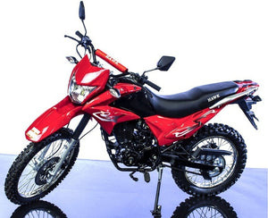 RPS Hawk 250CC Dirt Bike Dual Sports Enduro Street Legal