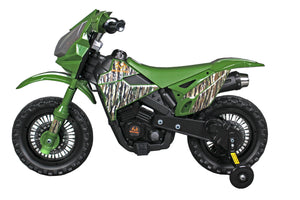 Best Ride On Cars Realtree Original Dirtbike, 6V, Camo Green