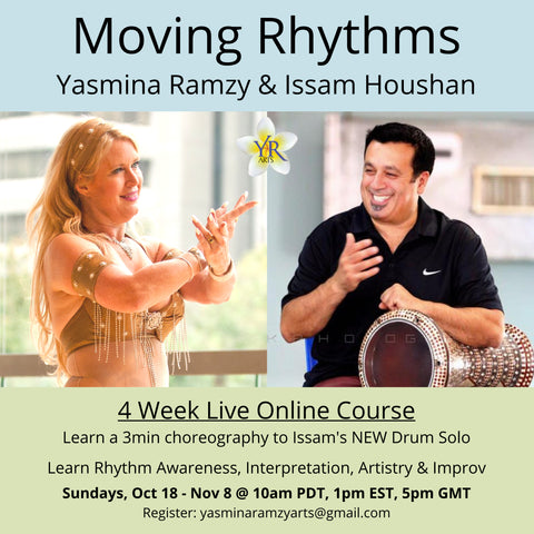 Moving Rhythms - 4 Week Course Live OR Recording