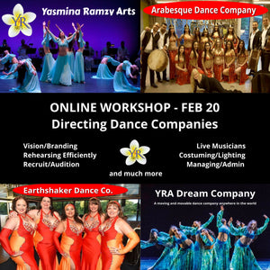 Directing Dance Companies with Yasmina Ramzy