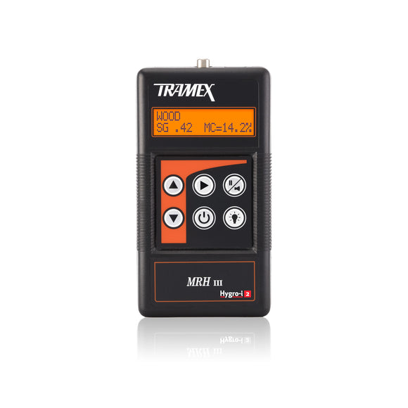 Tramex Moisture and Relative Humidity Meter - MRH3