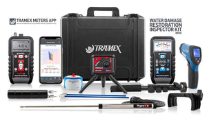 Tramex Water Damage Restoration Inspector Kit - WDIK
