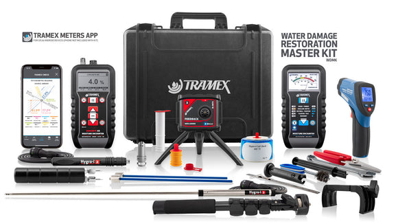 Tramex Water Damage Restoration Master Kit - WDMK