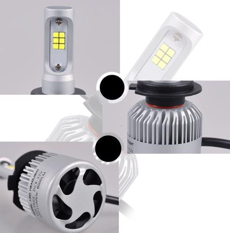 S2 42w LED HeadLight Conversion Kit 6000k Easy Fit 8800lm.