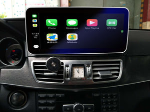 Touch Screen Android 10 And Apple CarPlay Bluetooth Unit GPS Ect For Mercedes E Class 2013-2014