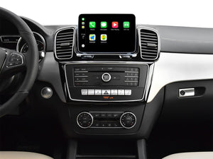 Touch Screen Android 10 And Apple CarPlay Bluetooth Unit GPS Ect For Mercedes GLE Class 2016-2017