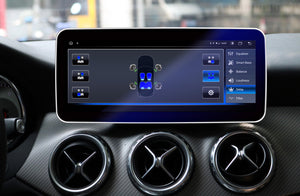 Touch Screen Android 10 And Apple CarPlay Bluetooth Unit GPS Ect For Mercedes GLA/A/CLA 2013-2015