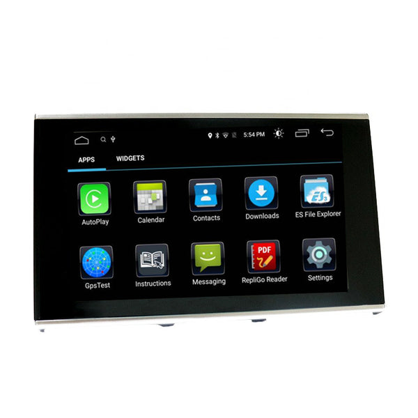 Touch Screen Android 10 And Apple CarPlay Bluetooth Unit GPS Ect For Audi A6 from 2012 - 2018