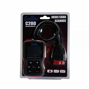Creator C200 Car Engine Fault Diagnostic Scanner Auto Code Reader OBD2 CAN BUS Scan Tool