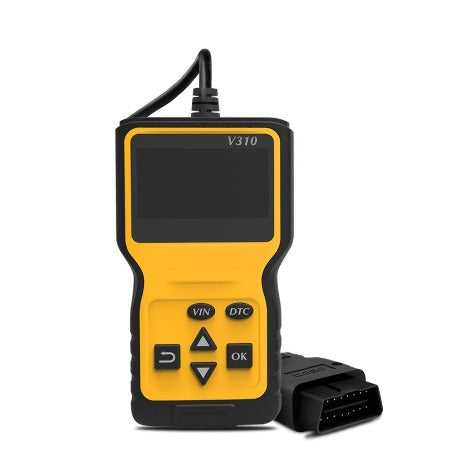 Car Fault Code Reader For Engine System Diagnostics & Reset Tool For Obd2 System