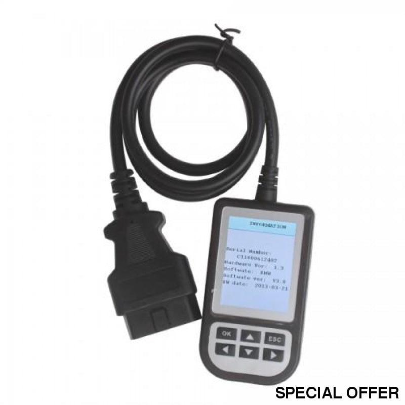 C110+ For Bmw + Mini Scanner Engine Diagnostic Airbag Abs Fault Code Scan Tool Reader Obd2