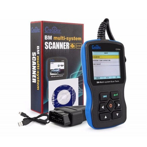 Creator C310+ Multi System Scan Tool Engine fault code reader BMW Diagnostic Tool 1997-2013